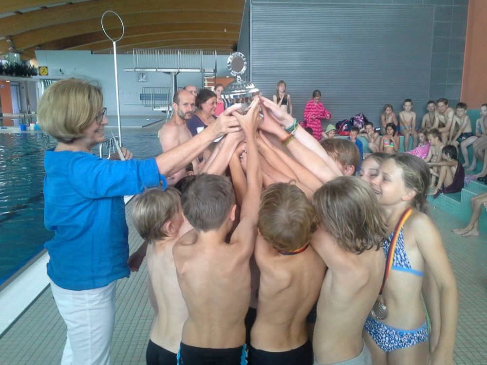 Riesenerfolge beim Schwimmfest