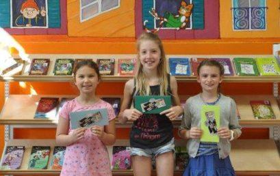 Leseköniginnen der Zeppelinschule