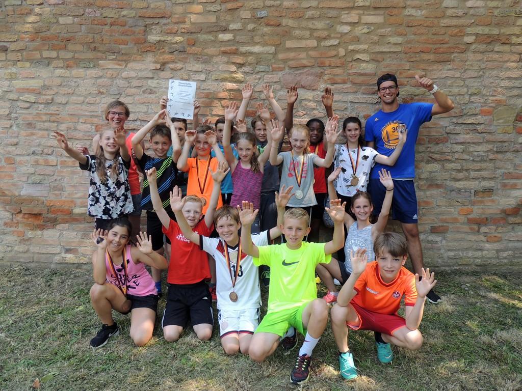 Stadtsportfest Leichtathletik – Haarscharf am Sieg vorbei!