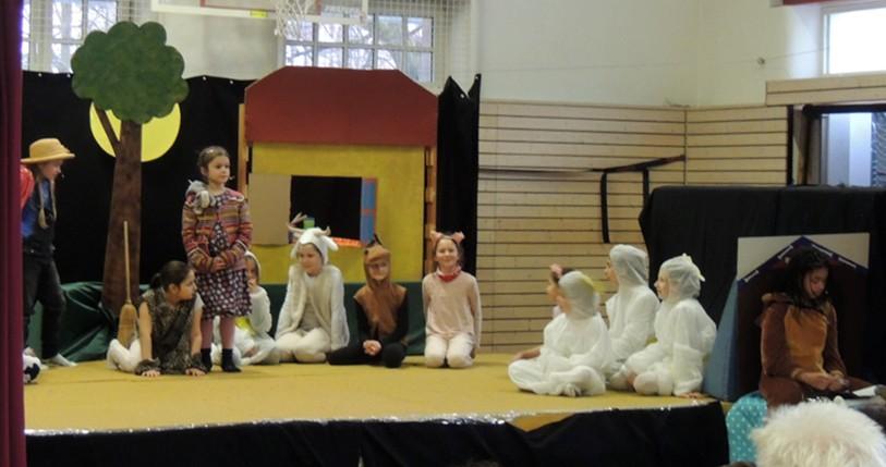 Kinder-Musical an der Zeppelinschule