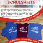 Neu: Zeppelin-Schulshirts