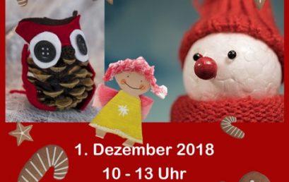 Gelungenes, besinnliches Adventsbasteln 2018