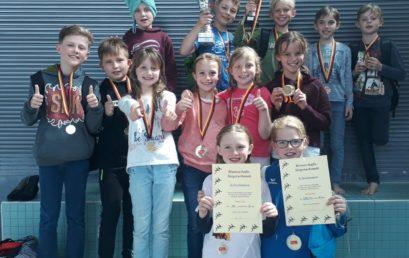 Doppelsieg beim Grundschul-Schwimmfest