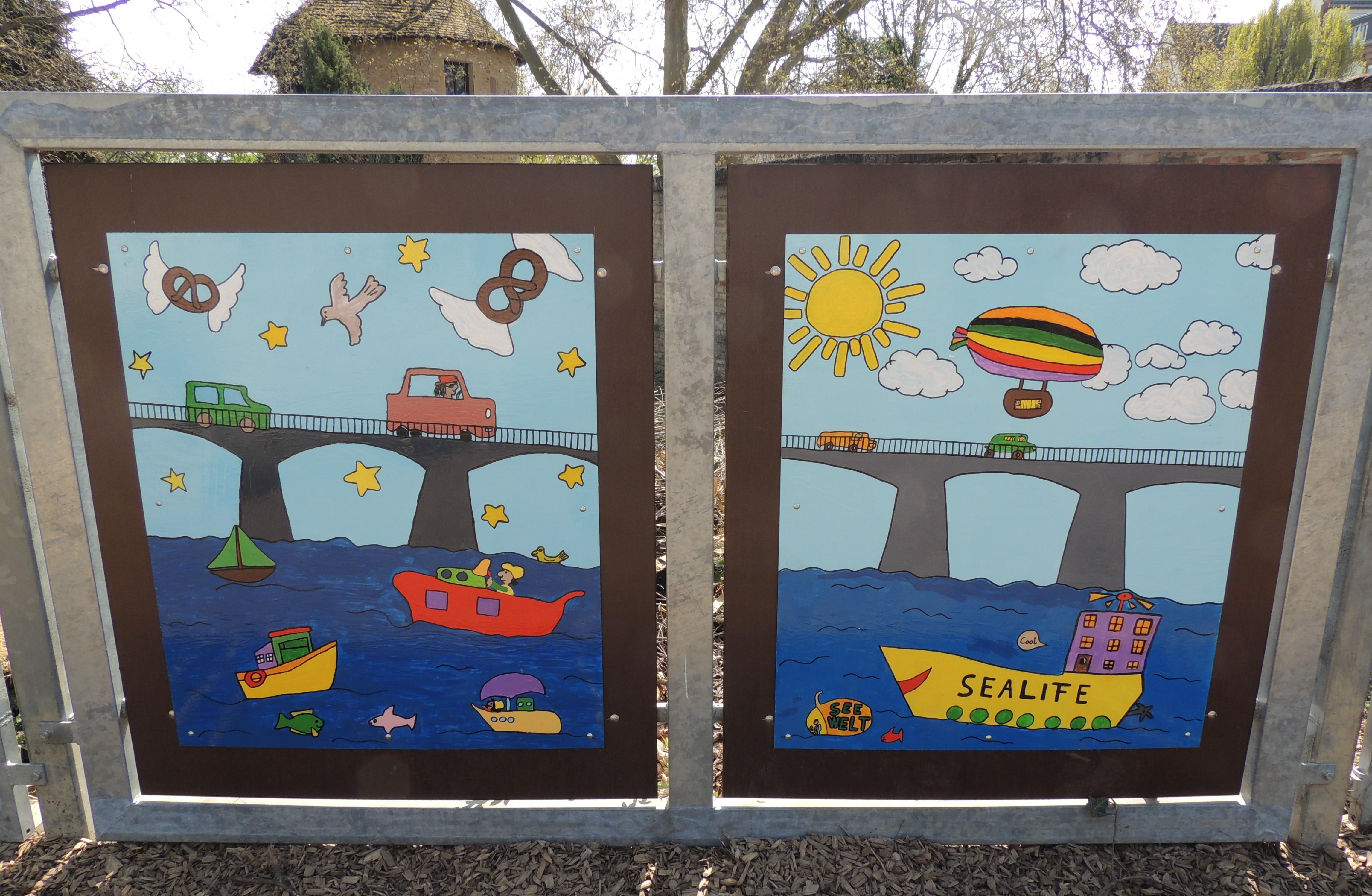 Ein bunter Rundgang durch Speyer – Farbe für unseren Schulhof